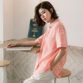 Bubble Baguette Styling Shirt - Strawberry Milk