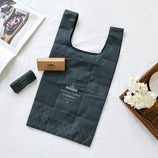 NTU carry-fold shopping bag - pine green