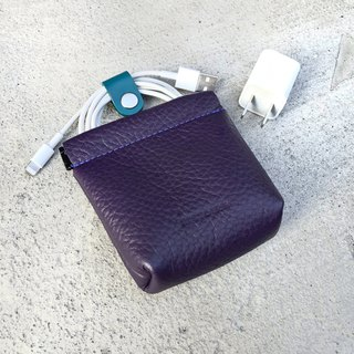 [Glamor]ZiBAG-037L/Spring Charger Bag / Dark Purple (Lichee)
