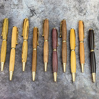 Wooden Handwork Ball Pen Series Including Laser Lettering Customized Wood Pen Wood Pen Hand Pen