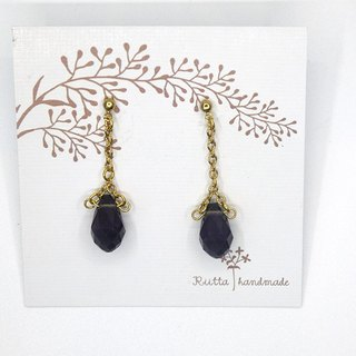 In February the birth of the stone amethyst earrings earrings