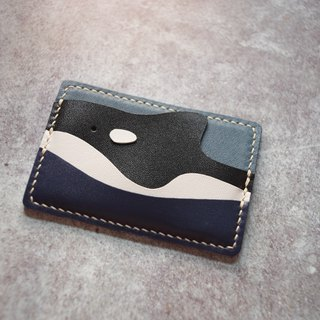 The boundless ocean. Killer whale card holder
