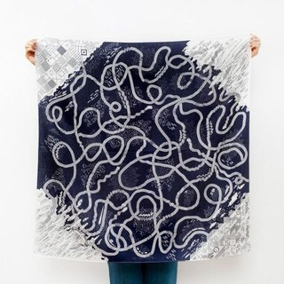 The Hida Express Furoshiki Scarf