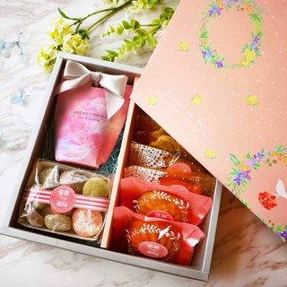 [Taoguo] Happy Flower Sen - Handmade Biscuit Gift Box (Gifts / Wedding Cakes / Gifts / Marriage)