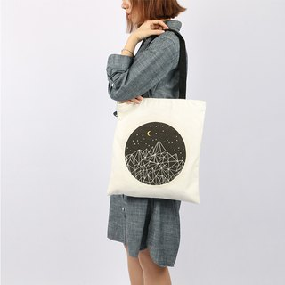 COLOURUP Canvas Tote bag side bag tote bag night sky