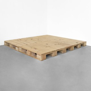 Wooden pallet bed frame (without bed head) Dimensional custom CU070