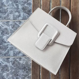 PINCH NO.1 (Grey 26 inches) Classic and Iconic Leather Handbag/Crossbody