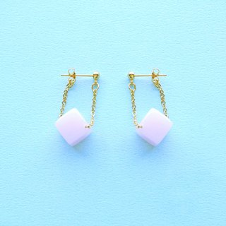 Set Margaret Maru lab micro-sweet early summer strawberry candy earrings / ear clip (ED007)