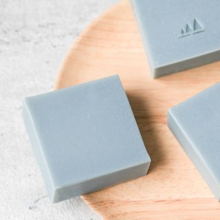 Light blue clay soap