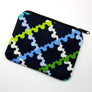 Zipper pouch / coin purse (padded) (ZS-199)