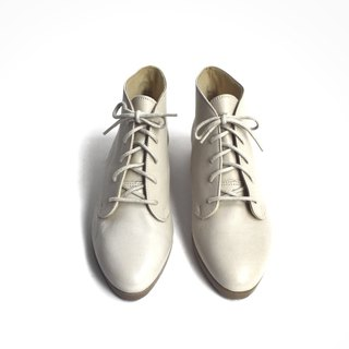 90s American White Shoes | Munro Ankle Boots US 6.5M EUR 36
