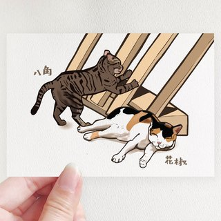 [Charity Products] The Life of the Surf Cat - Postcard Set (4 Selects 1)
