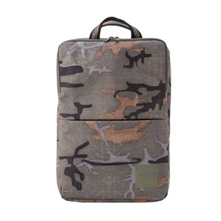 "SOLIS [ CAMO Series ] 15"" business laptop backpack(Jungle Green)"