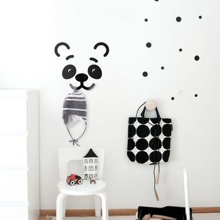 Rack Panda for kid's room