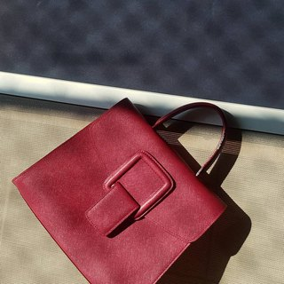 PINCH NO.1 (Wine 22 inches) Classic and Iconic Leather Handbag/Crossbody