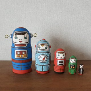 MATRYOSHKA 5sets Robot