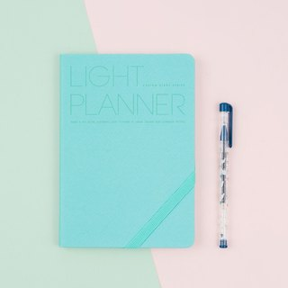 2018 PREMIUM LIGHT PLANNER Calendar / Handbook - Mint Green