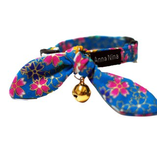 [AnnaNina] Pet Dog Collar Biplane Kelly Towel S~2L