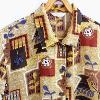 │Slowly │ Impressionist - Ancient Shirt │ Japanese System. Vintage. Retro