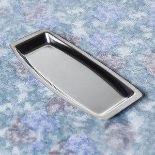 Qixian SECLUSION OF SAGE / Stainless Steel Simple Metal Plate