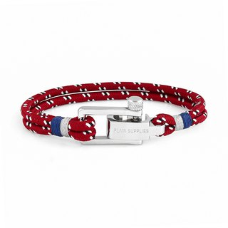 U-Lock Red Rope Bracelet