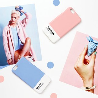 iPhone case - Pantone 2016 trend colors Serenity - for iPhones - non-glossy