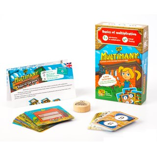 Goody Bag THE BRAINY BAND Maths Board Game - 12% off for two new products