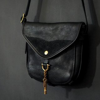 HEYOU Handmade - The Wayfarer's Bag - 旅人馬鞍包黑色款