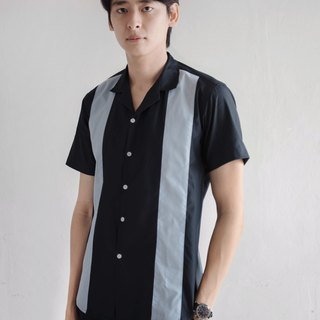 Dark grey - sekaiha draping button up shirt