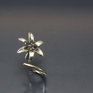 Golden Needle 925 Silver Ring