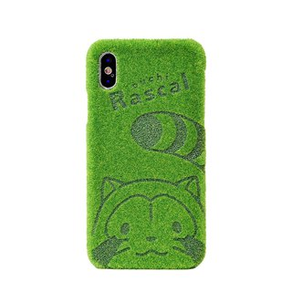Shibaful あらいぐまラスカルver. for iPhone X/XS/XS Max case
