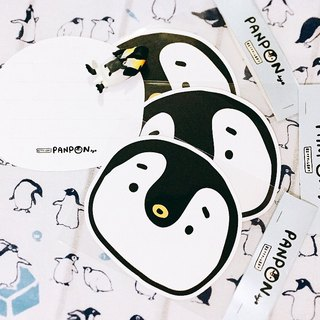 Big PANPAN double-sided postcard