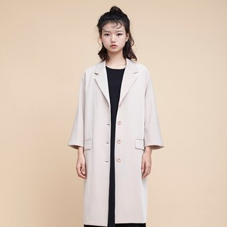 kitann ino long sleeves suit jacket