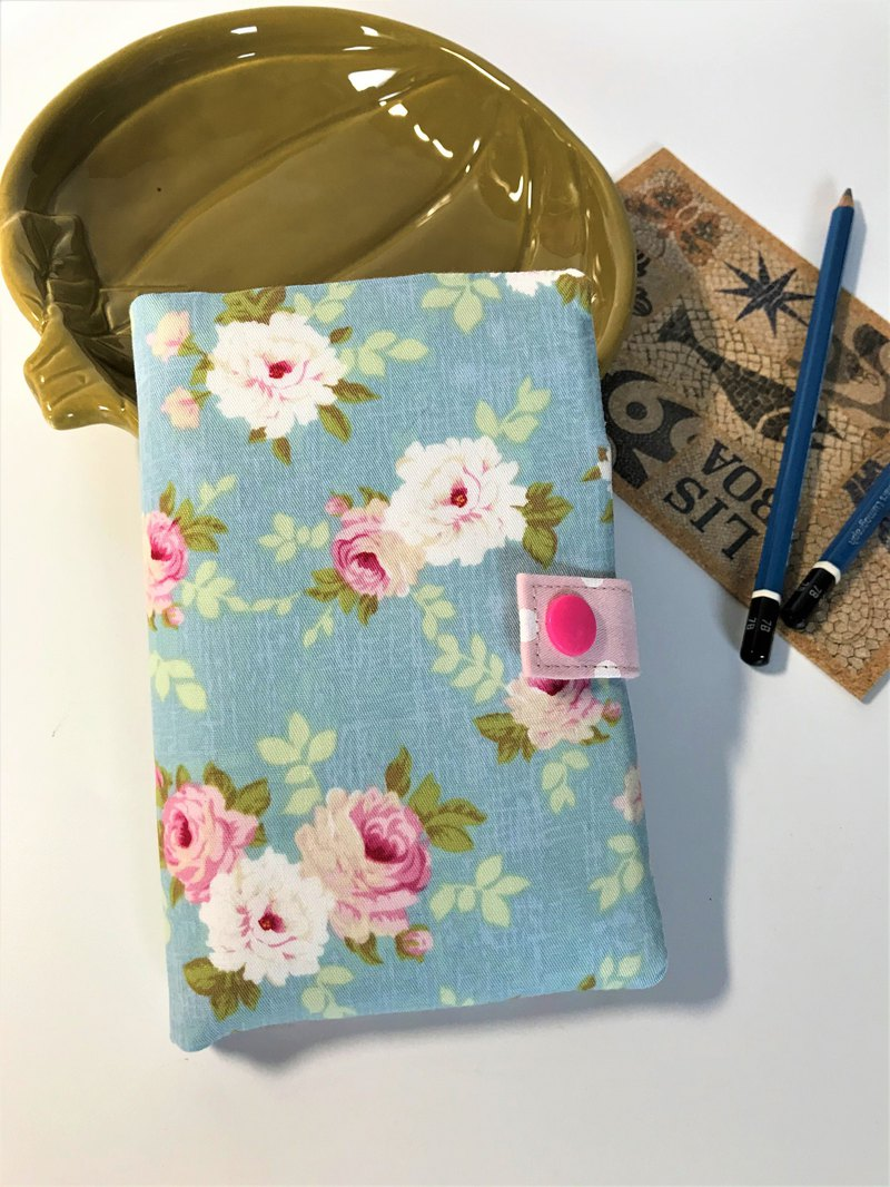 玫瑰花園護照套夾