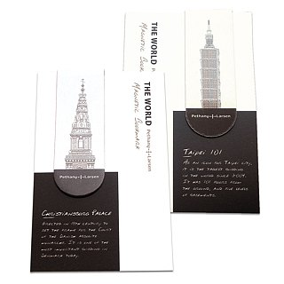 【Magnetic bookmark】 world top