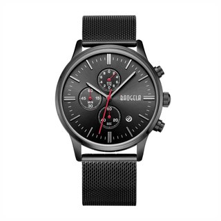 BAOGELA - STELVIO Black Dial / Milan Watch Adjustable Watch