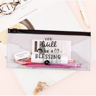 啰Jenny transparent storage clip chain bag M size / 03. Blessing