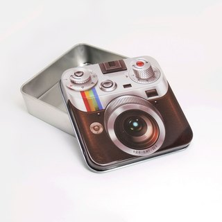 Retro camera [tinplate empty box]