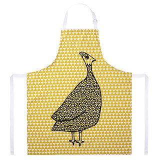 Kitchen Good Time Apron Chic Chick Ocre Paulette