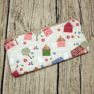 Large Zipper Pouch, Pencil Pouch, Gadget Bag, Cosmetic Bag (ZL-74)