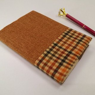 Exquisite A6 cloth book clothing ~ orange (unique product) B04-036