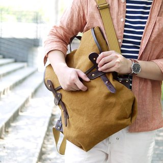 Travel Adventure ‧ Designers Individuality Canvas Backpack Made in Japan by SUOLO