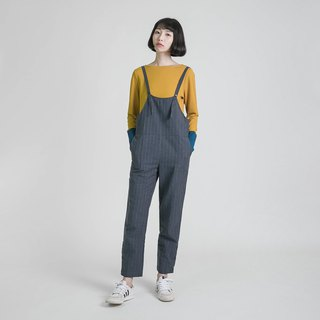Rhythm rhythm striped jumpsuit _8AF200_ dark blue