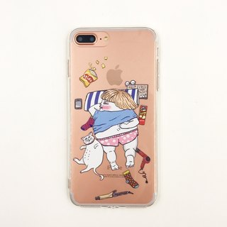 Lazy -  iPhone case