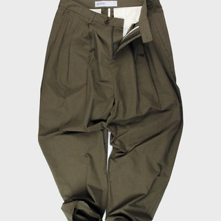 Relaxed Cotton Trousers