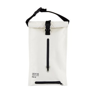 Roderick- Waterproof Buckle Hanging Toilet Paper Storage Bag (White)