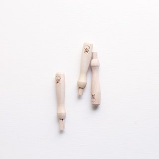 Leyang · wool felt special basic tools - Solid wood can be accommodated special single needle grip