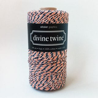 US imports Divine Twine three-color cotton line [Halloween] Halloween