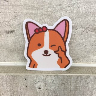"""Art of fish"" Keji daily wink little waterproof stickers -SS0065"