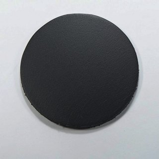 Leather leather pad coaster insulation pad round 7.5 cm 2 60 yuan / month